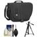 Tamrac 3445 Rally 5 Camera/Netbook/iPad Bag (Black) with Deluxe Photo/Video Tripod + Accessory Kit