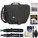 Tamrac 3445 Rally 5 Camera/Netbook/iPad Bag (Black) with LCD Protectors + Cleaning Accessory Kit