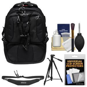 Tamrac T0210 Anvil Slim 11 Photo DSLR Camera / Laptop Backpack with Tripod + Sling Strap + Kit