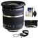 Tamron 10-24mm f/3.5-4.5 Di II SP LD ASP (IF) Lens (BIM) (for Nikon Cameras) with 3 UV/ND8/CPL Filters + Accessory Kit