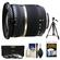 Tamron 10-24mm f/3.5-4.5 Di II SP LD ASP (IF) Lens (BIM) (for Nikon Cameras) with 3 UV/ND8/CPL Filters + Tripod + Accessory Kit