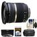 Tamron 10-24mm f/3.5-4.5 Di II SP LD ASP (IF) Lens (BIM) (for Nikon Cameras) with 3 UV/ND8/CPL Filters + Case + Accessory Kit
