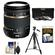 Tamron 18-270mm f/3.5-6.3 Di II PZD Macro Zoom Lens (for Sony Alpha A-Mount Cameras) with 3 (UV/FLD/CPL) Filters + Tripod + Accessory Kit