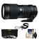 Tamron SP 70-200mm f/2.8 Di LD (IF) Macro AF Zoom Lens (for Canon EOS Cameras) with 3 UV/ND8/CPL Filters + Accessory Kit