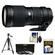 Tamron SP 70-200mm f/2.8 Di LD (IF) Macro AF Zoom Lens (for Canon EOS Cameras) with 3 UV/ND8/CPL Filters + Tripod + Accessory Kit