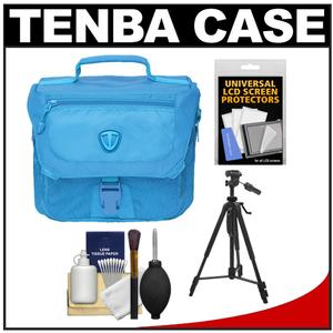 Tenba Vector 3 Digital SLR Camera Bag (Oxygen Blue) with Tripod + Accessory Kit