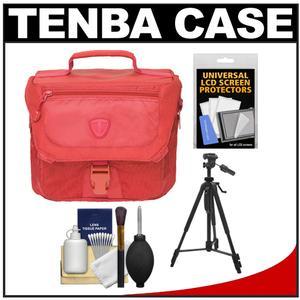 Tenba Vector 3 Digital SLR Camera Bag (Cadmium Red) with Tripod + Accessory Kit