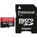 Transcend 16GB microSDHC 300x UHS-I Class 10 Memory Card with Adapter