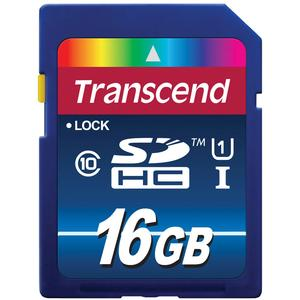 Transcend 16GB SecureDigital-SDHC-300x UHS-I Class 10 Memory Card