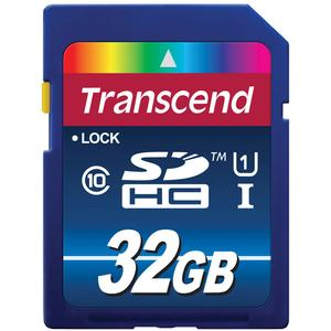 Transcend 32GB SecureDigital-SDHC-300x UHS-I Class 10 Memory Card