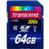 Transcend 64GB SecureDigital SDXC 300x UHS-I Class 10 Memory Card