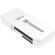 Transcend USB 3.0 SD & MicroSD Card Reader (SDHC/SDXC/UHS-I) (White)
