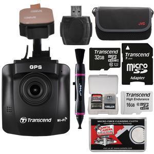 Transcend DrivePro 230 1080p HD Wi-Fi GPS