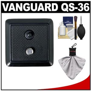 Vanguard Quick Shoe Release Plate QS-36 with Kit for MG-2 MG-3 MG-4 MG-5 MG-6 MT-110 Rondo 1 Epsod and EpsodPlus Tripods