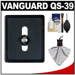 Vanguard Quick Shoe Release Plate QS-39 with Accessory Kit for Tracker Series Alta+ Series Tripods SBH and PH Series Ball Heads