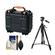 Vanguard Supreme 27F Waterproof and Airtight Hard Case with Foam with Tripod + Cleaning Kit