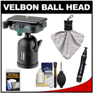Velbon QHD-53D Aluminum Ball Head with Cleaning Kit