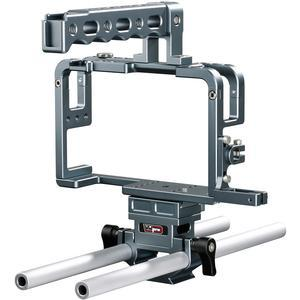 Vidpro CA-GH4 Aluminum Camera Video Cage Rig for Panasonic GH4 Digital Cameras