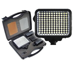 Vidpro 10-Piece Pro Photo/Video LED Light Kit with Battery  Charger  Diffusers & Case