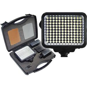 Vidpro 10-Piece Pro Photo-Video LED Light Kit with Battery Charger Diffusers and Case