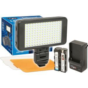 Vidpro LED-150 Ultra-Slim Video Light with 2 Diffusers Battery and Charger