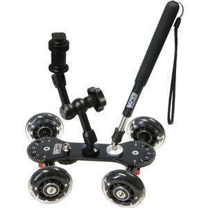 Vidpro SK-22 Professional Skater Dolly for Digital SLR Cameras and Video Camcorders