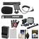 Vidpro Mini Condenser Microphone for DSLRs, Camcorders & Video Cameras with LP-E8 Battery + Charger + Video Light & Bracket + Canon Accessory Kit