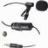Vidpro Lavalier Condenser Microphone for DSLRs, Camcorders & Video Cameras 20' Audio Cable