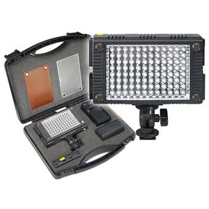 Vidpro 9-Piece Pro Photo-Video LED Light Kit with Battery Charger Diffusers and Case