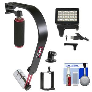 SB-8 Video Stabilizer for Smartphones with LED Video Light + Kit ...