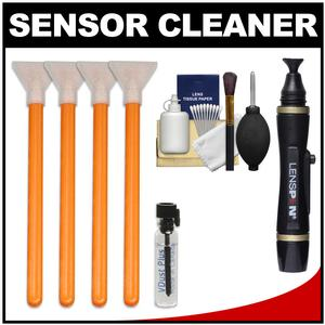 VisibleDust EZ Sensor Cleaning Kit for Size 1.6x-16mm-Digital SLR Cameras with 1ml Liquid vDust Plus and 4 Vswabs and Lenspen and Cleaning Accessory Kit