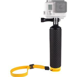 Vivitar Floating Buoy Handle Hand Grip for GoPro and All Action Cameras - Black-Yellow -