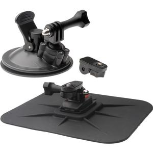 Vivitar Pro Series Car Suction Cup Windshield and Dashboard Mounts for GoPro and All Action Cameras