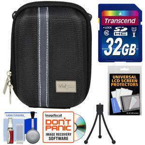 Essentials Bundle for Vivitar DVR-508 and DVR-949 HD Digital Video Camera Camcorder with Case and 32GB Card and Mini Tripod and Kit
