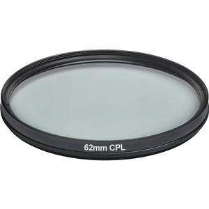 Vivitar 62mm Circular Polarizer Glass Filter