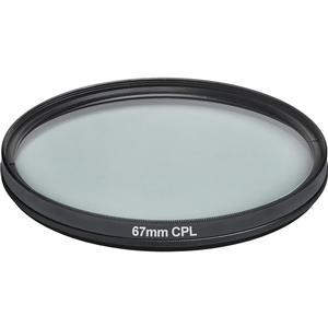 Vivitar 67mm Circular Polarizer Glass Filter