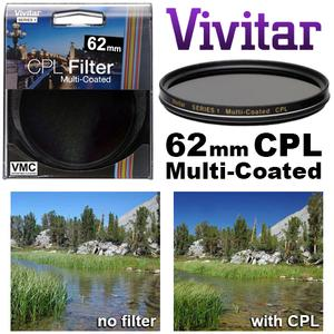 Vivitar Series 1 62mm Multi-Coated Circular Polarizer Glass Filter