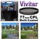 Vivitar Series 1 77mm Multi-Coated Circular Polarizer Glass Filter