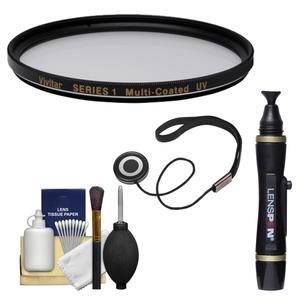 Vivitar Series 1 58mm Multi-Coated UV Glass Filter with Lenspen and CapKeeper and Cleaning Kit