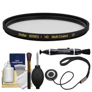 Vivitar Series 1 58mm Multi-Coated UV Glass Filter with Lenspen + CapKeeper + Cleaning Kit