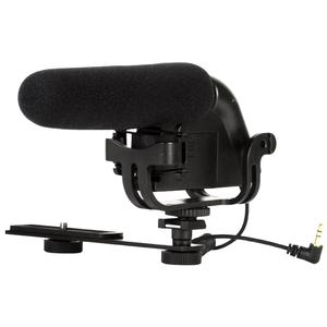 Vivitar Shotgun Condenser Microphone with Bracket and 2 Wind Screens