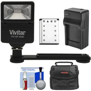 Essentials Bundle for Kodak PixPro FZ51 FZ53 with LB-012 Battery and Charger and Case and Flash and Bracket and Kit