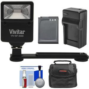 Essentials Bundle for Nikon Coolpix A900 AW130 S9900 with EN-EL12 Battery and Charger and Case and Flash and Bracket and Kit
