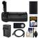 Vivitar BG-E14 Series 1 Multi-Power Battery Grip for Canon EOS 70D DSLR Camera with LP-E6 Battery & Charger + HDMI Cable + Remote Kit