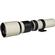 Vivitar 500mm f/8.0 Telephoto Lens (T Mount) (White)