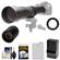 Vivitar 650-1300mm f/8-16 Telephoto Lens (Black) (T Mount) with 2x Teleconverter (=2600mm) + LP-E8 Battery & Charger + Accessory Kit