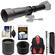 Vivitar 650-1300mm f/8-16 Telephoto Lens (Black) (T Mount) with 2x Teleconverter (=2600mm) + Monopod + Backpack + Kit