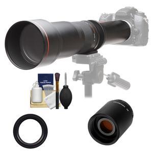 650mm 1300mm +2x telephoto lens nikon d600 d800 d3200