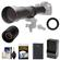 Vivitar 650-1300mm f/8-16 Telephoto Lens (Black) (T Mount) with 2x Teleconverter (=2600mm) + EN-EL14 Battery & Charger + Kit