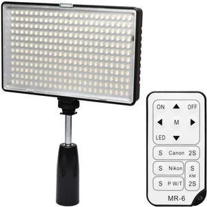 Vivitar Professional 288 LED 1400 Lumens Video Light with Remote